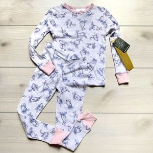Laura Ashley Pijama Set Size 4T